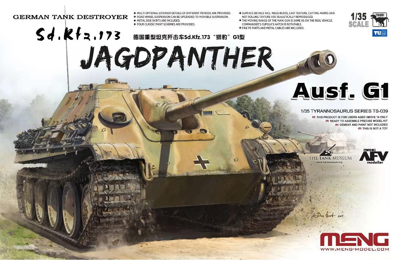Meng Model TS-039 1 35 Sd.Kfz.173 Jagdpanther Ausf.G1 NEW QU