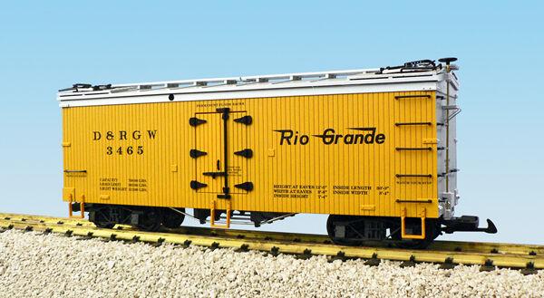 USA Trains Escala G R16357 D&RGW - Amarillo Plata Hierba