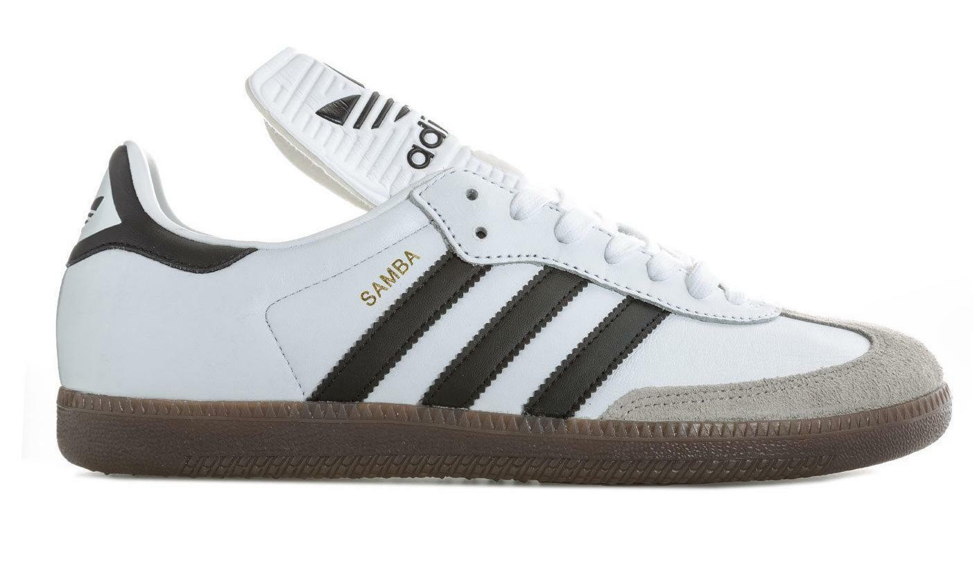 Homme Adidas Originals Samba Classic Og Trainers BZ0225 Leather made in Germany
