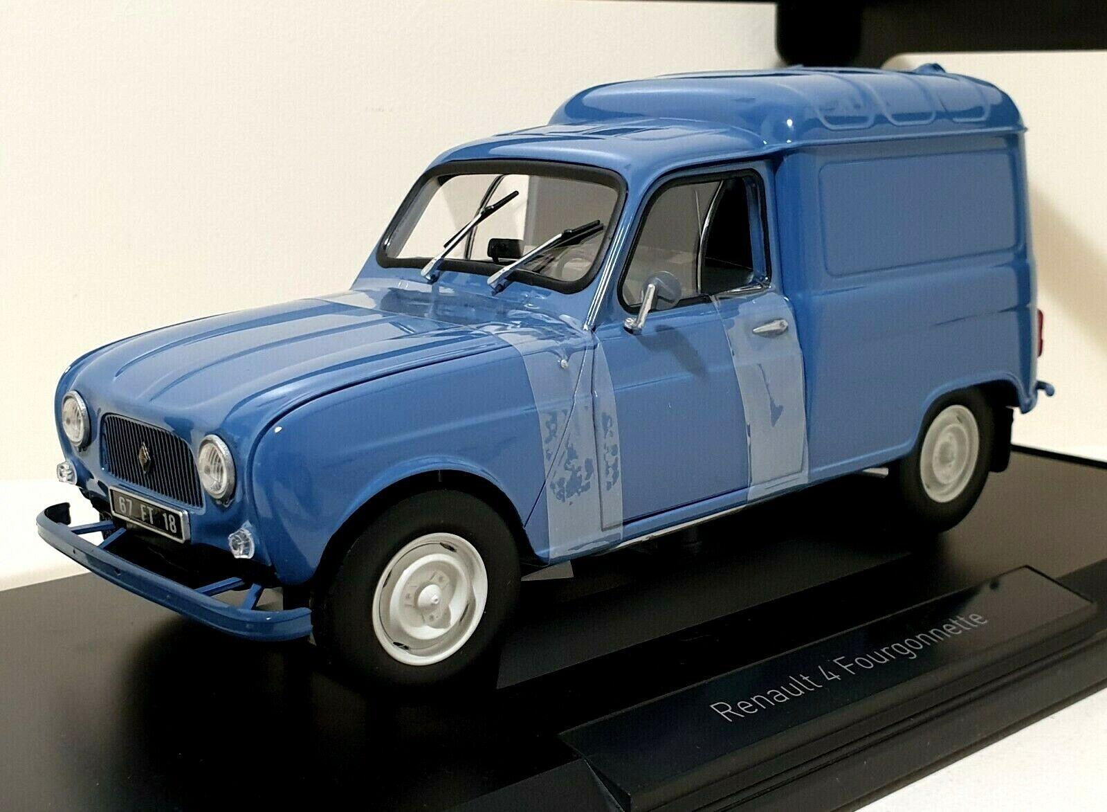 NOREV 1 18 Renault 4L Fourgonnette Blau