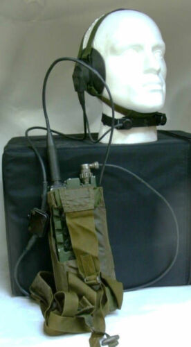 Clansman Militär UK RT349 PRC349 Personal radio abschnitt und kader verwenden