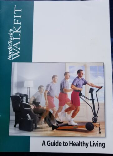 NordicTrack WalkFit MANUAL treadmill Cardio workout machine Owner/'s Guide