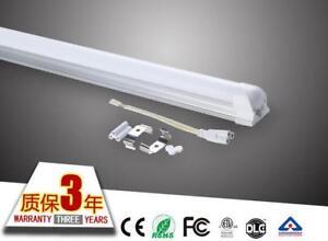 10-x-LED-T8-9W-0-6m-2ft-batten-Lighting-Integrated-Tube-Lamp-Light-with-bracket
