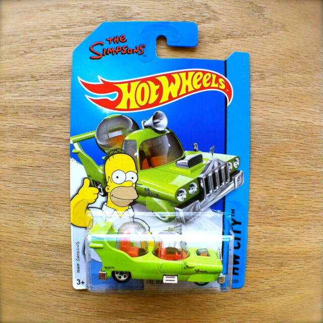 2014 Hot Wheels THE HOMER The Simpsons 89/250 HW CITY TOONED diecast Mattel INTL