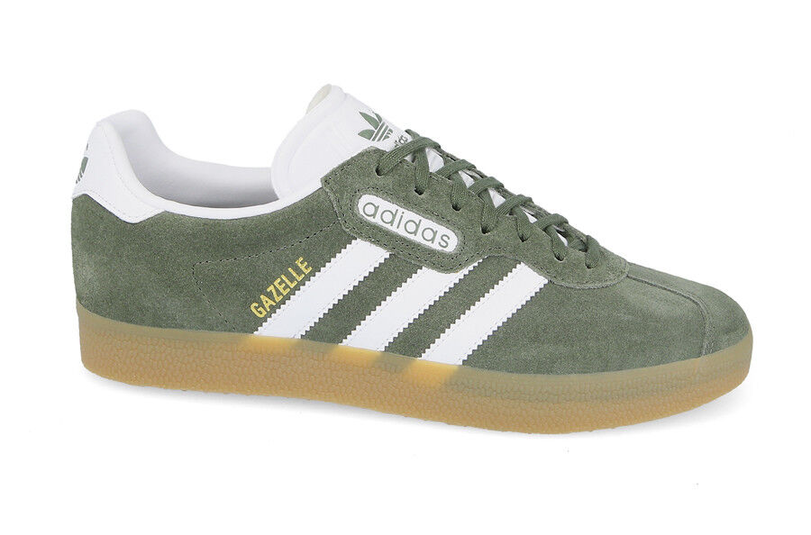 Adidas mens gazelle super trainers schuhe by9778