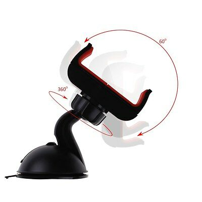 Car Windscreen Suction Mount Holder Cradle Universal Stand For iPhone Cell Phone