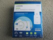 Brand New Linksys RE3000W N300 Wi-Fi Single Band Range Extender 2.4GHz