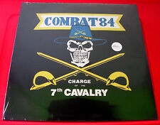Combat 84 Charge Of The 7th Cavalry LP UK RED VINYL RI 2012 Step-1 NEW SEALED