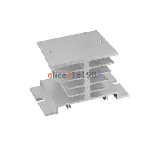 De aluminio del disipador de calor para Solid State Relay Ssr tipo pequeño disipación de calor 10a-40a