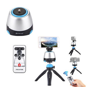 Rotation-Panoramic-Ball-Head-With-Remote-Controller-Tripod-Mount-Phone-Clamp