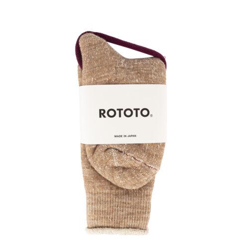 RoToTo Double Face Socks Camel JANUARY SALE!