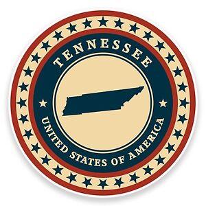 2-x-10cm-Tennessee-USA-Vinyl-Sticker-Laptop-Car-Travel-Luggage-Tag-Flag-9453