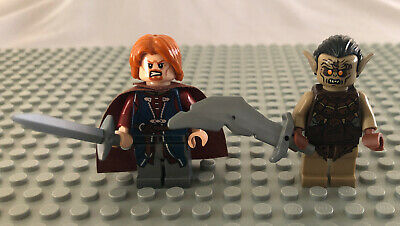 Lego Boromir authentic genuine minifigure from set Lord of the rings 9473.