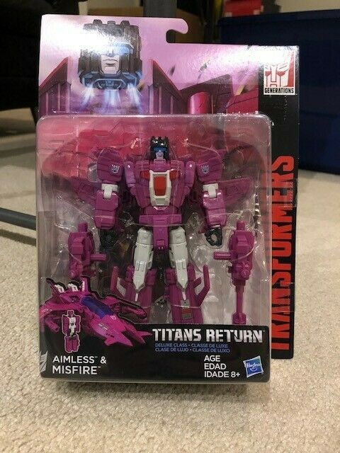 Transformers Titans Return Deluxe Class Aimless & Misfire