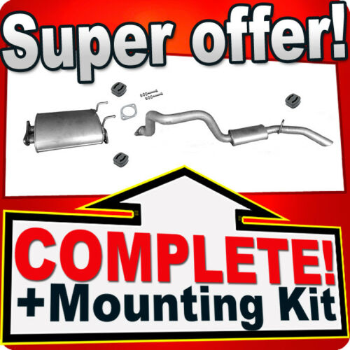 SSANGYONG MUSSO FJ 2.3 2.9 3.2 D Silencer Exhaust System W22