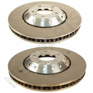 Details About For Porsche Cayenne Turbo S Gts Pair Set Of 2 Front Vented Disc Brake Rotor Oem