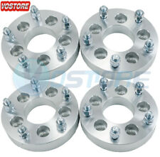 4 125 5 Lug Wheel Spacers Adapters 5x45 To 5x55 Fits Jeep Liberty Lincoln