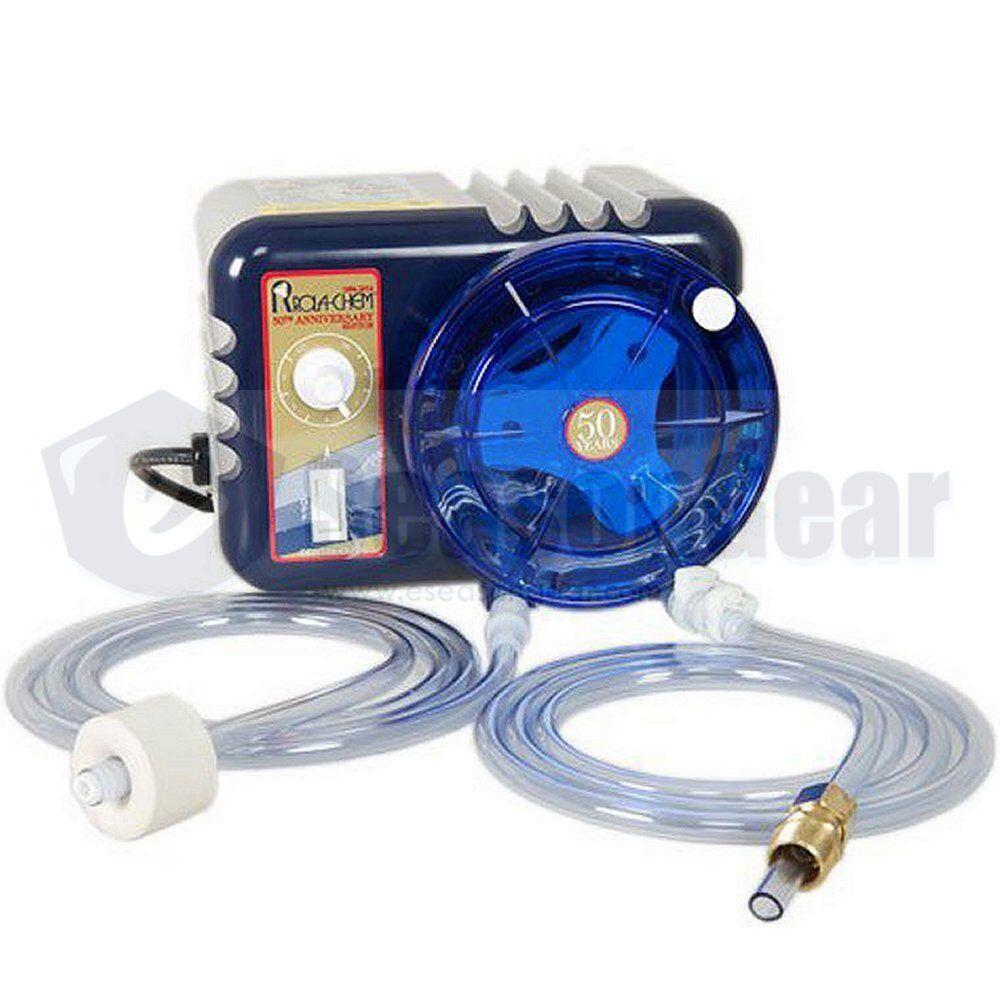Rola-Chem 543710 12 GPD 240V RC25 53SC Chemical Feeder, Metering Pump, Cord