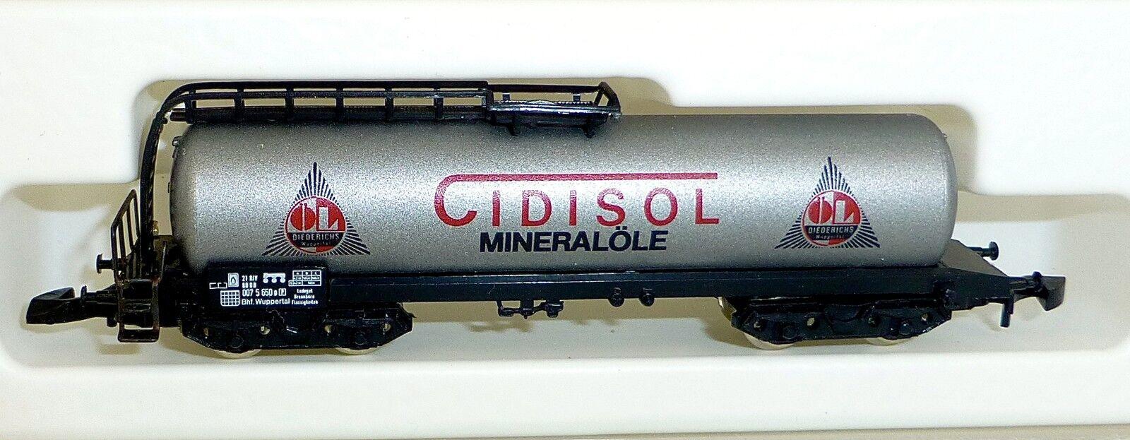 Cidisol Utilités les Wagons-Citernes Col  89707 Märklin 8626 Voie Z 1 220 439