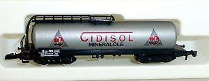 Cidisol Utilités Les Wagons-citernes Col  89707 Märklin 8626 Voie Z 1/220 439