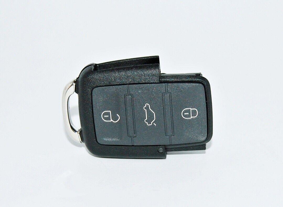 2 Knopf Klapp Schluessel Gehaeuse Fit für VW Polo Skoda Octavia