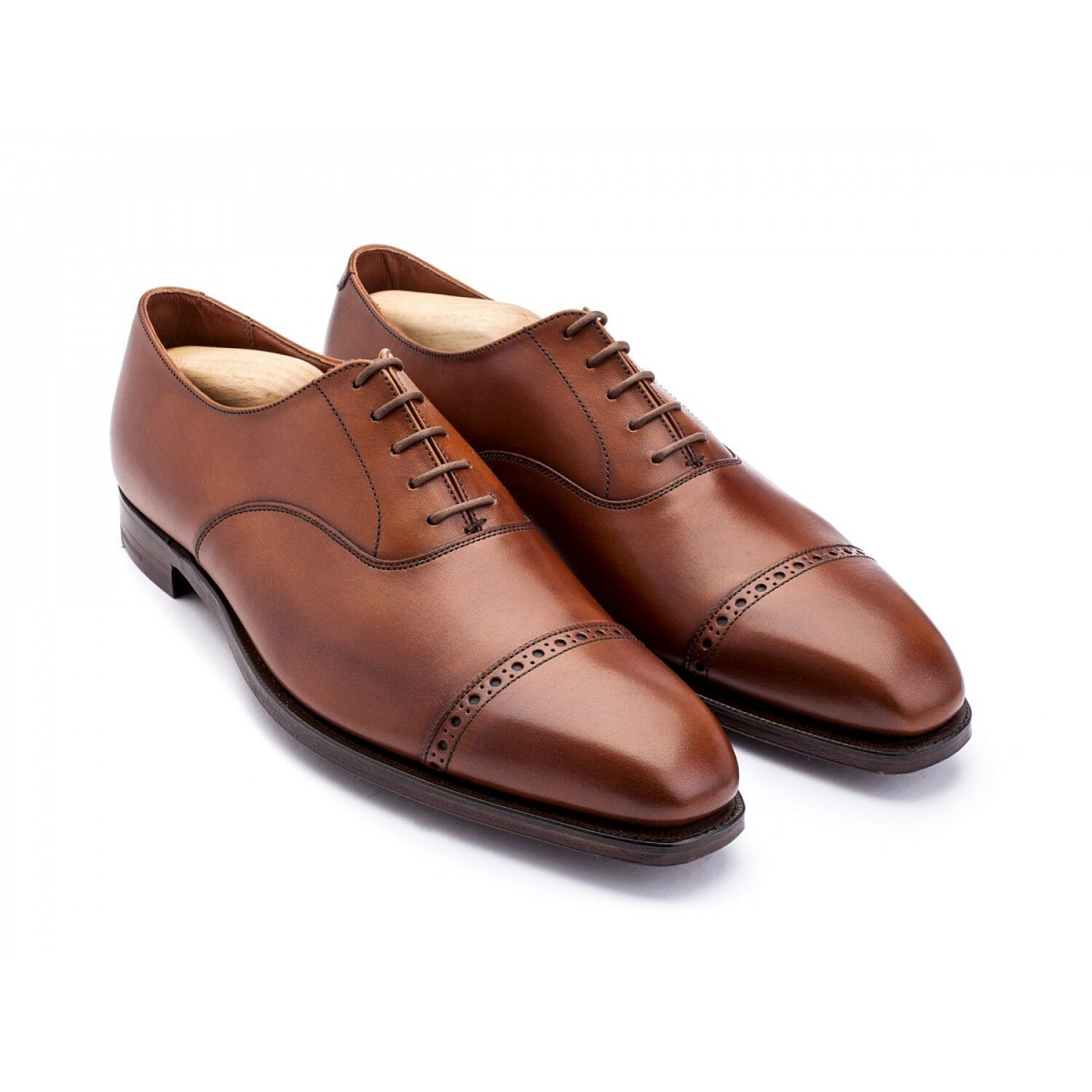 G.J. Cleverley Charles Tan Burnished Calf