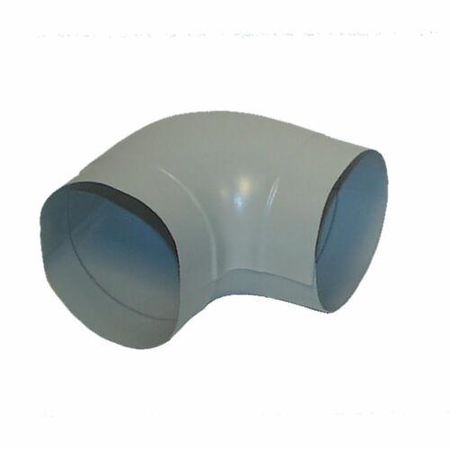 PVC Außenbogen 18-20mm zu Steinwolle Isolierung PVC Mantel