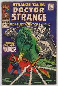 L7641-Strange-Tales-166-Vol-1-VG-VG-Estado