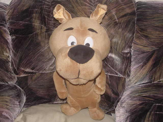 20  Scrappy Doo Plush Toy From Scooby Doo Exclusively For Six Flags