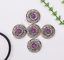 10X-Bohemian-3D-Flower-Turquoise-Conchos-For-Leather-Craft-Keychian-Wallet-Decor miniatuur 50