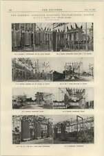 1925 Estación Transformador Osborne Adelaide Croydon Norwood