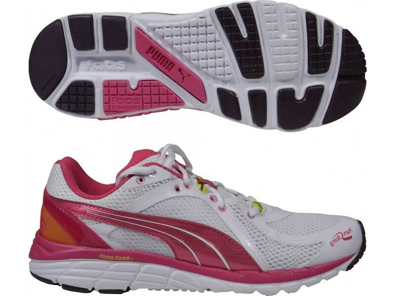 PUMA FAAS RUN 600 S WOMENS LADIES SUPPORT RUNNING GYM TRAINERS SHOES 4 5 6 8