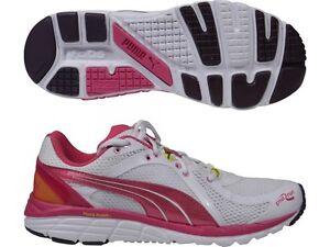 Puma Faas 600 S V2 Linea Donna Scarpe da corsa da palestra fitness da palestra scarpe da ginnastica White