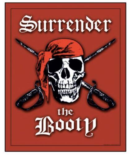 "Surrender The Booty Jumbo Beach Towel 54""x 68"" Jumbo Towel"