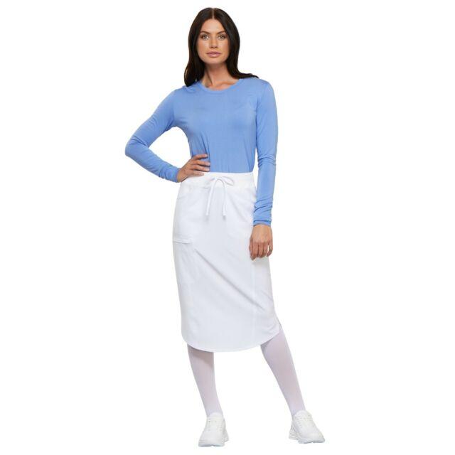 Cherokee Scrubs INFINITY Women/'s Five Pockets 30 Inch Drawstring Skirt CK505A