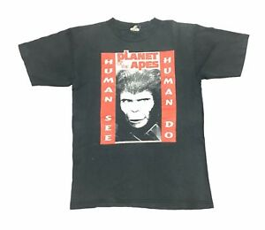 Tee de jaren 90 Movie Promo Vintage Mosquitohead planeet 1996 T van apen shirt Medium P0w8nkXO