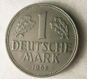 1963-D-Alemania-Marca-Excelente-Vintage-Moneda-Aleman-Bin-7