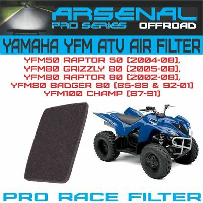 fast shipping! 1985-2008 Yamaha Grizzly 80 YFM80 ATV air filter