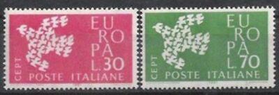 Cept 1961 Postfrisch MüHsam Italien Nr.1113/14 ** Europa