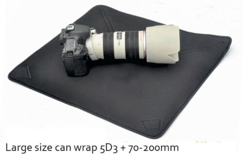 Paño De Envoltura De Cámara Impermeable Bolso de la cubierta protectora cuerpo Para Canon Sony Nikon DSLR