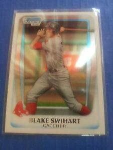 BLAKE-SWIHART-2011-BOWMAN-CHROME-DRAFT-PROSPECTS-CARD-BDDP-86-BOSTON-ROOKIE