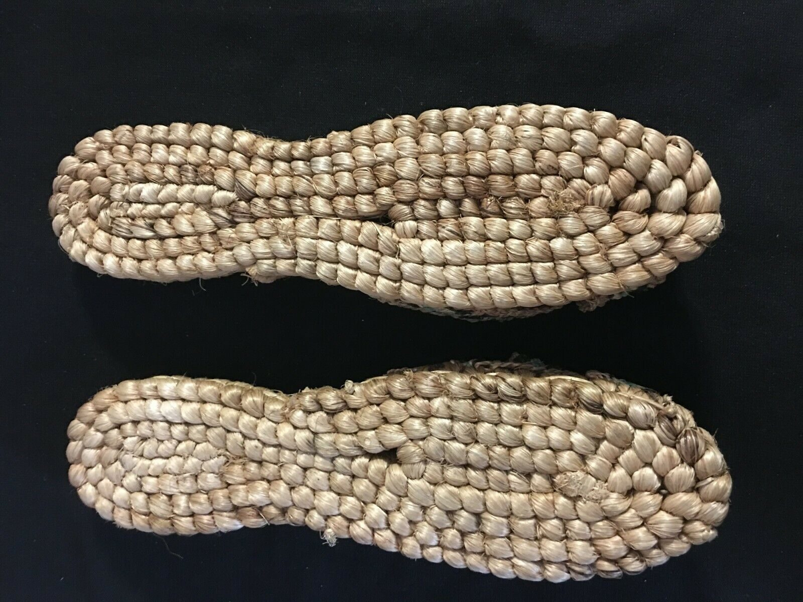 Vintage 1940's Hand Woven Women's Sandals from Ph… - image 2