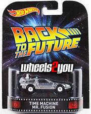 TIME MACHINE Mr. Fusion Back to the Future - 2015 Hot Wheels Retro Entertainment