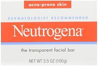 2 Pack - Neutrogena Acne Prone Skin Formula Facial Bar 3.50oz Each on sale