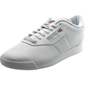 e109c199aa2 Reebok Classic Womens Athletic Princess 1475 White Shoes SNEAKERS Size 7  Ladies