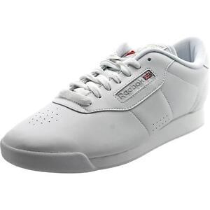 Reebok Classic Womens Athletic Princess 1475 White Shoes SNEAKERS Size 7  Ladies e2aa085ea