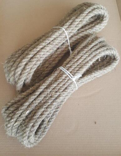 griffig robust Hanf natürlich, Seil Hanfseil Tau Φ 6-28 mm