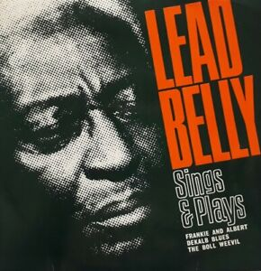 Leadbelly-Sings-And-Plays-Vinyl-EP-7-034-Single-1965-ARC-68-Frankie-And-Albert