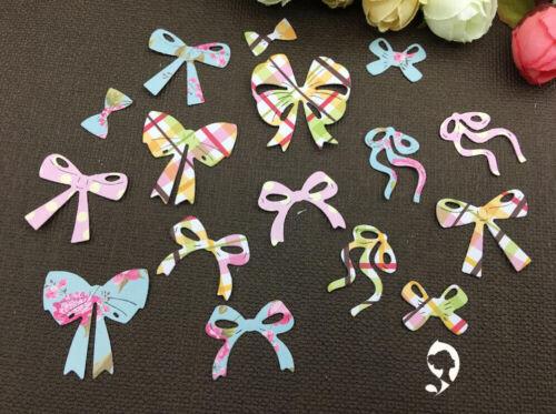 Metal Cutting butterfly bow necktie bowknot Scrapbook paper craft card stencils