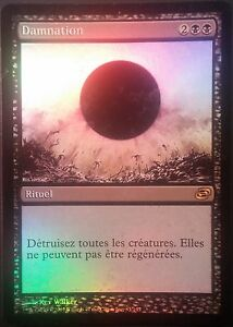 Damnation-PREMIUM-FOIL-VF-Planaire-French-Planar-Chaos-Damnation-Mtg-magic